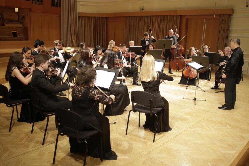 Ruski filharmonični komorni orkester KLASSIKA, foto: Goran Antlej