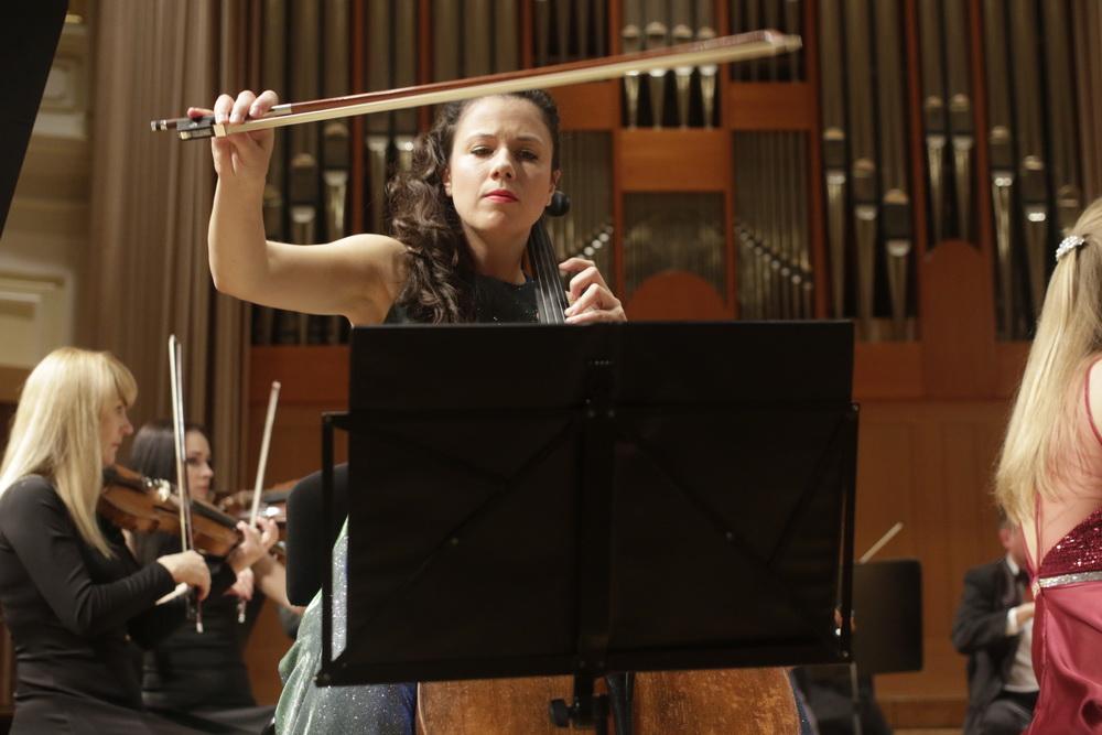 Vita Peterlin, violončelo - foto: Goran Antlej