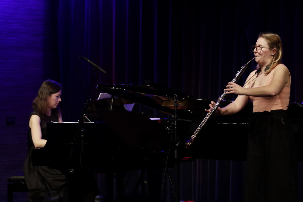 Neža Podbršček, angleški rog, Beata Ilona Barcza, klavir, foto: Goran Antlej