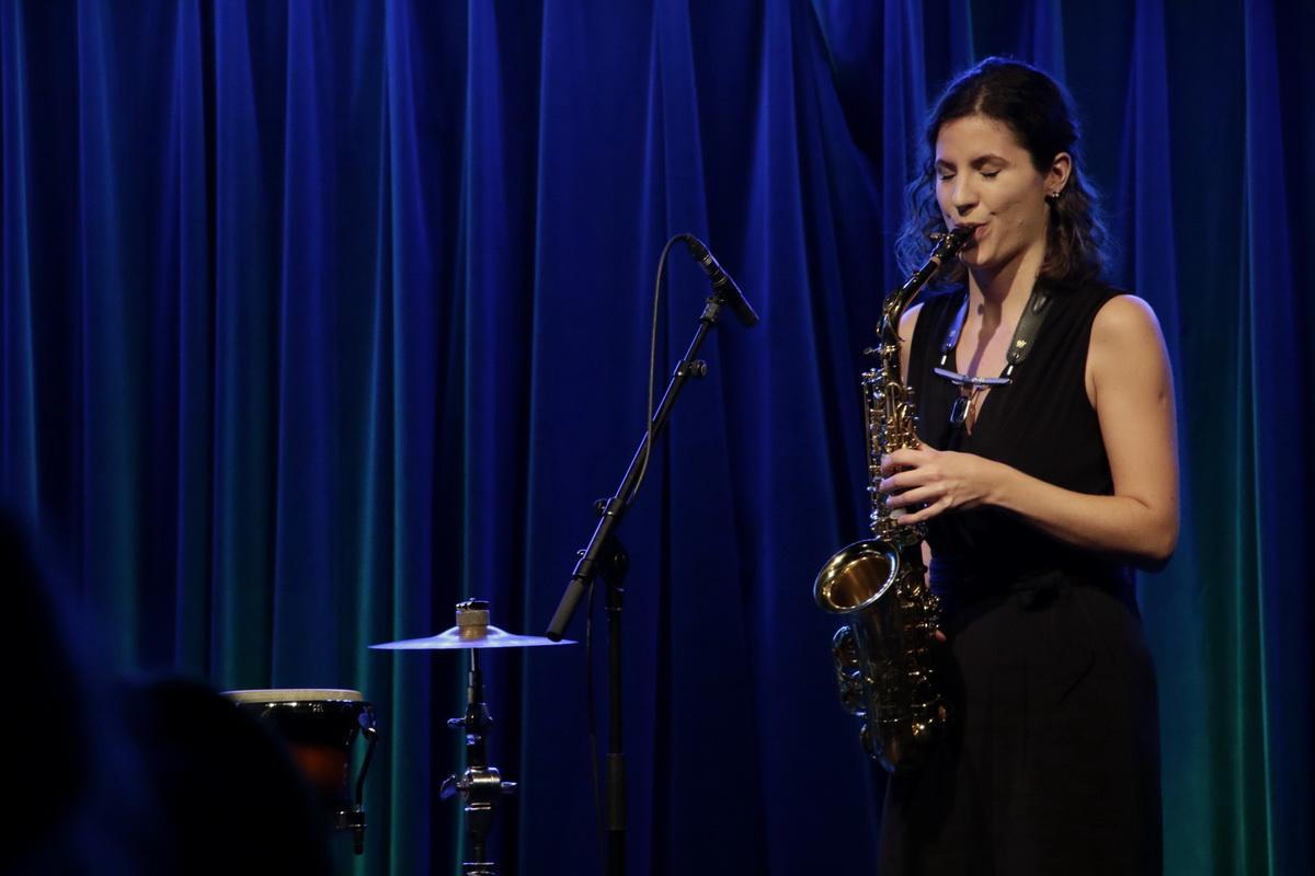 Duo Ikt. Janina Lorenci, saksofon, Foto: Goran Antlej