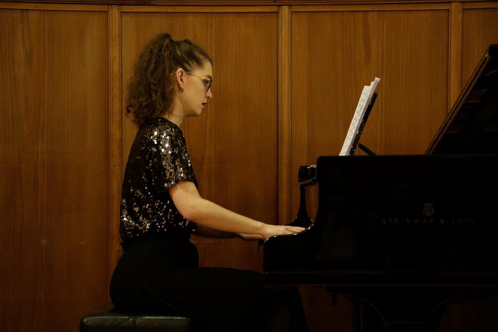 Ana Semič Bursać, klavir, Foto: Goran Antlej