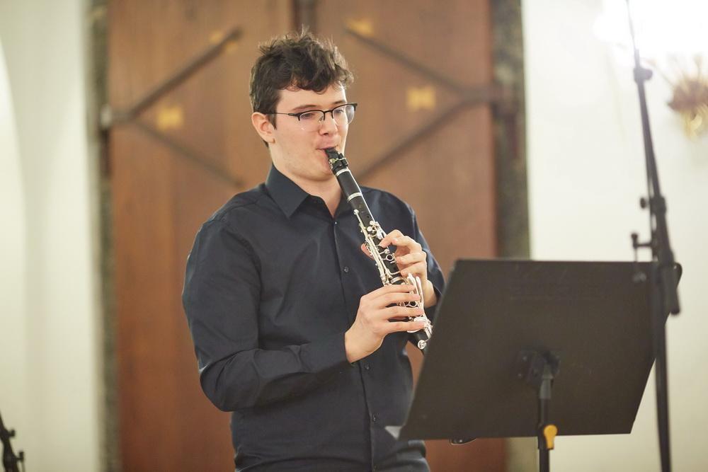 Benjamin Burger, klarinet, Foto: Janez Kotar