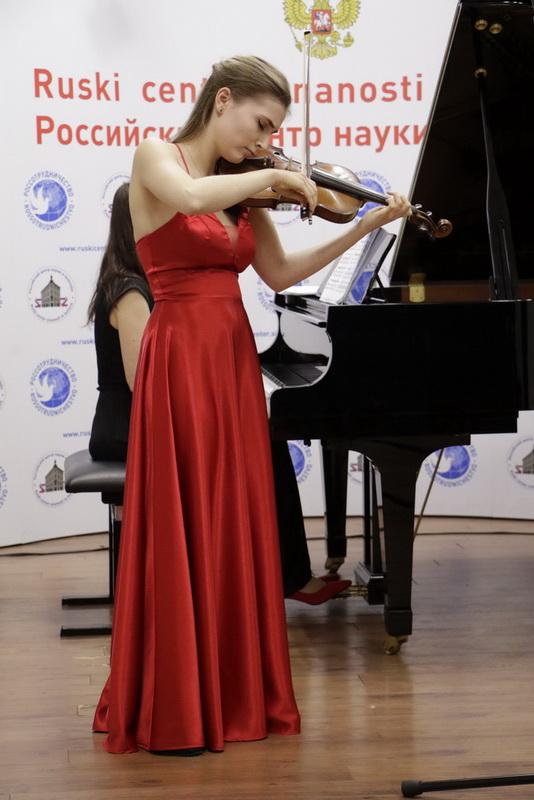 Zala Eva Kocijančič, violina, Foto: Goran Antlej