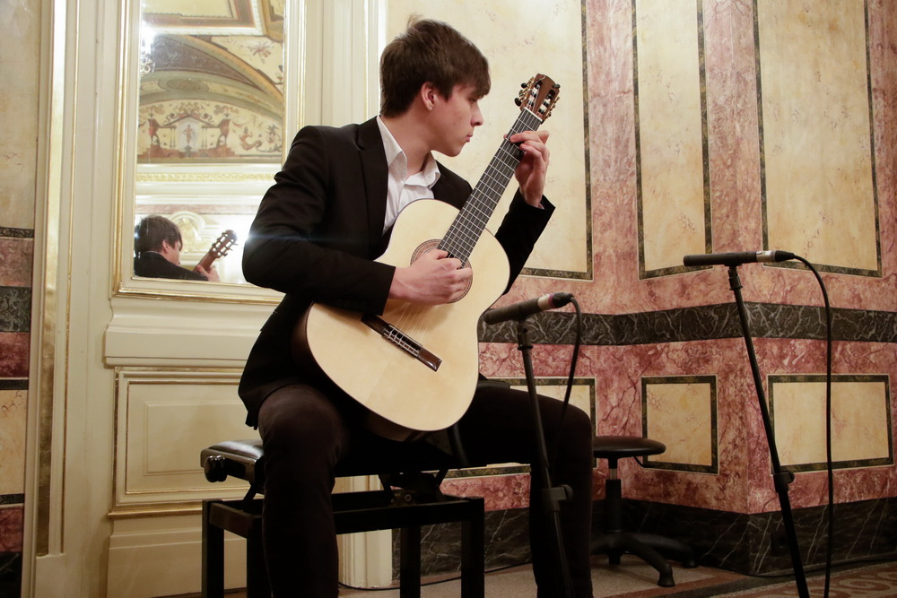 Samo Novak, kitara, Foto: Goran Antlej