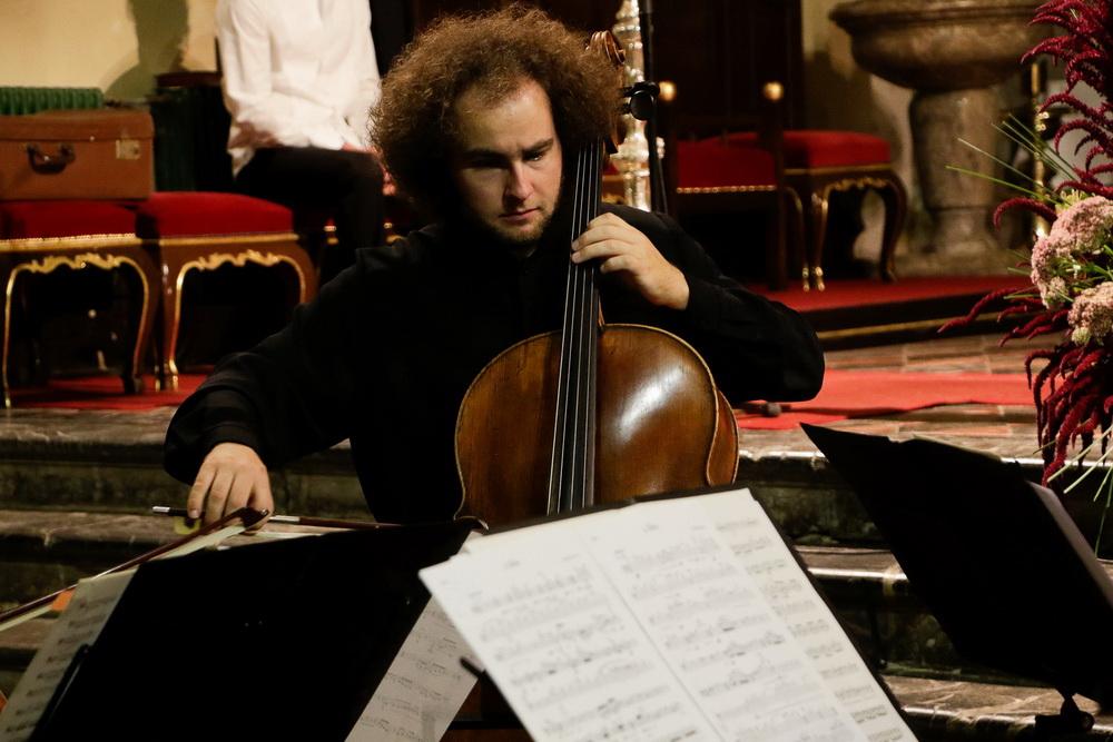 PROSTRANOST, 15.9.2020 - Kvartet violončel, Sebastian Bertoncelj (Foto: Goran Antlej)