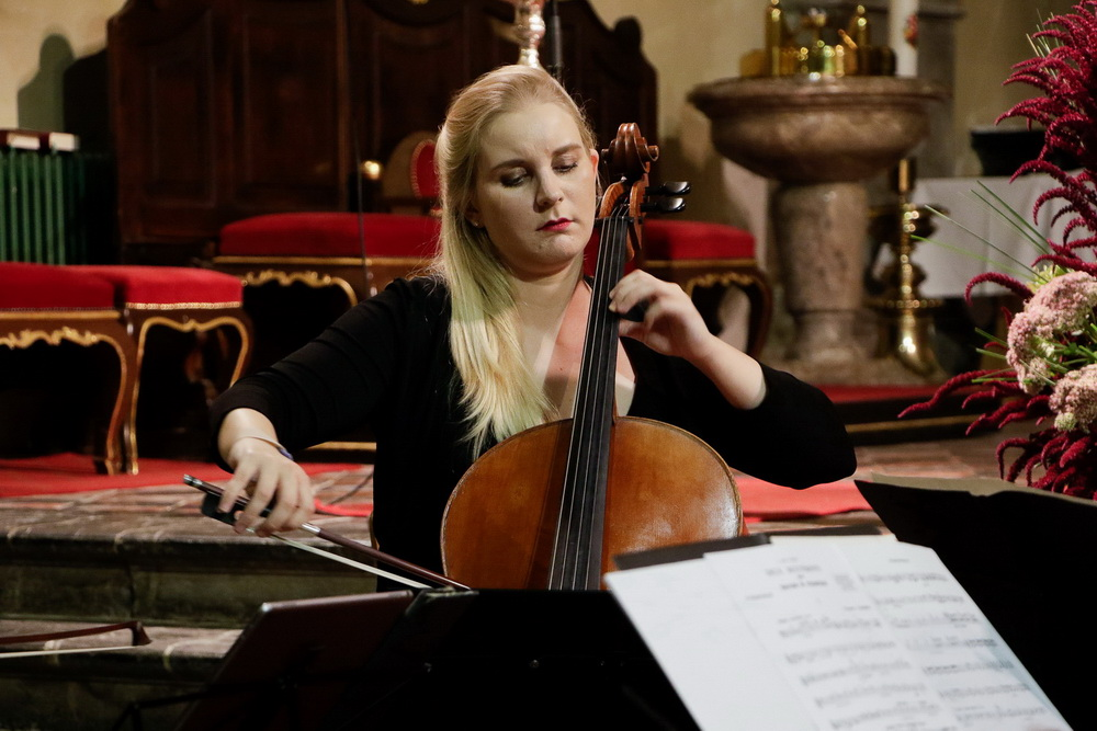 PROSTRANOST, 15.9.2020 - Kvartet violončel, Tamara Gombač (Foto: Goran Antlej)