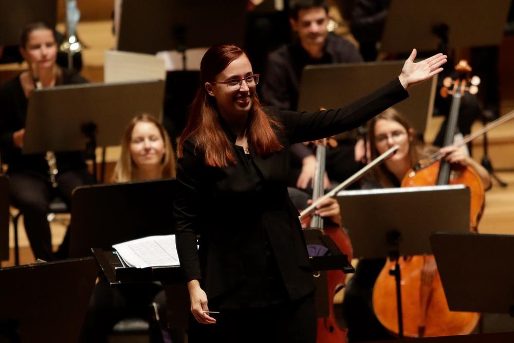 23.9.2020, Orkester Slovenske filharmonije, Mojca Lavrenčič, Foto: Goran Antlej